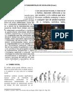 Conceptos Fundamentales de Sociología (Parte I)