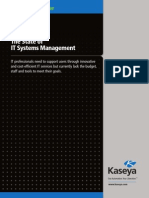 The State of IT Systems Management