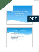 Clase IV - Fuentes de Agua (Completo)