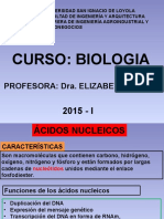 Acidos Nucleicos Biologia 3era Semana 2015 II