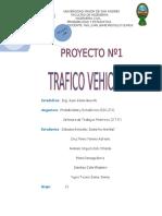 ANALISIS DE TRAFICO VEHICULAR AV. 20 DE OCTUBRE LA PAZ UNIVERSIDAD MAYOR DE SAN ANDRES