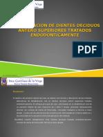 Coronas a Mano Alzada - Reconstrucción en Dientes Tratados Endodonticamente.