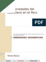 Las variedades del castellano en el Perú.pptx