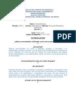 Autoevaluación (Proyecto II) 14-05-2016