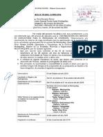 Postergación de Proceso de Selección CP03-2016-CE-AFSM