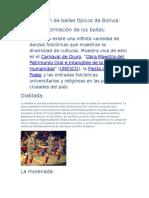 Presentación de Bailes Típicos de Bolivia