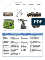 Make peace (assessment, revision)