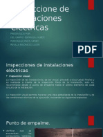Inspeccione de Instalaciones Eléctricas