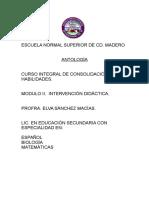 Antología curso