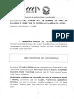 Açao Civil Publica MP contra OSs na Educação em Goiás