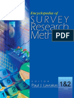 Encyclopedia of Survey Research Methods_Lavrakas_2008.pdf