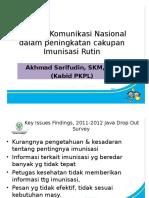 Strategi Komunikasi Imunisasi