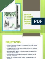 El Plan Contable General Empresarial (PCGE)