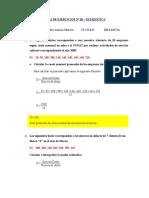 Estadistica-media Aritmetica-trabajo Grupal de Aplicacion