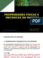 Palestra Propriedades Da Madeira 2015 - Prof Basílio Do INPA