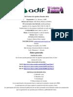 Bases Torneo RENFE ADIF 2016