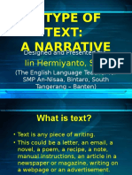 Atypeoftext Narrative 100922233516 Phpapp01