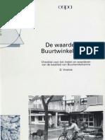 De Waarde Van Buurtwinkelcentra