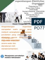 Pengembangan Efektivitas Organisasi_New