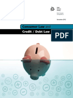 Consumer Law and CreditDebt Law Eng