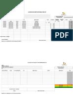 Formato de Liquidacion Movilidad - Viaticos - Gastos por representacion.xls