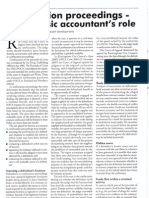 Confiscation Proceedings- The Forensic Accountant's Role