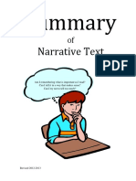 Narrative Summary or s Module 1213