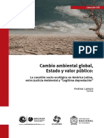 Cambio Ambiental Global