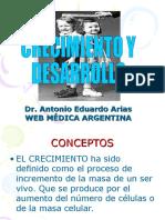 CRECIMIENTO- DESARROLLO-INFANTIL