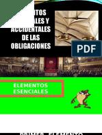 Elementos de Las Obligaciones