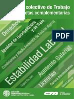 Convenio Colectivo de Trabajo de ANSES y actas complementarias