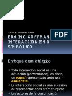 Erwing Goffman y El Interaccionismo Simbólico