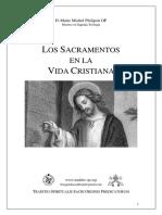 Los Sacramentos en La Vida Cristiana, Fr M. M. Philipon OP