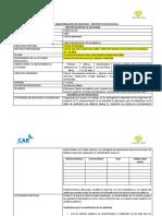 Planeación Taller Caracterizacion Materiales Plásticos