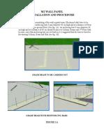 m2 Wall Panel Inst. Procedure