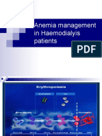 Anemia Management in HD Patients