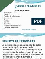 Conceptos de Fuente de Información 20112