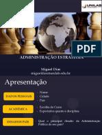 Introducao Conceitos - Administração Estratégica