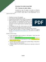 Instrucciones de Escritura Ensayo Final CBU-E Sistemas de Salud y Cultura