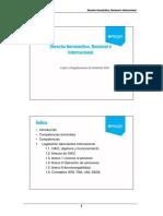 Texto1 - Derecho Aeronáutico, Nacional e Internacional