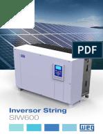 WEG Inversor String Siw600 50058673 Catalogo Portugues Br