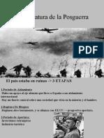 La Literatura de La Posguerra (si no se ve prueben descargarlo como ppt)