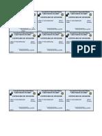 Certificados de Votacion