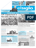 Edición Impresa Elsiglo 26-10-2016