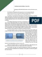 Modeling Functional Building Type II -Answer Key