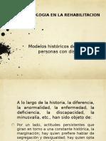 1.1 Modelos Historicos de Atencion a Personas Con Discapacidad