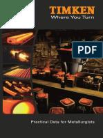 Timken Practical Data for Metallurgists Copy
