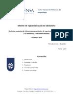 Resistencia a Los Antibioticos en Germenes Comunitarios - 2010