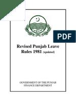 Updated Revised Punjab Leave Rules 1981.pdf
