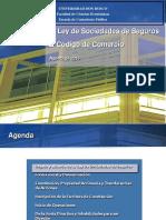 6. Ley de Sociedades de Seguros y Codigo Comercio